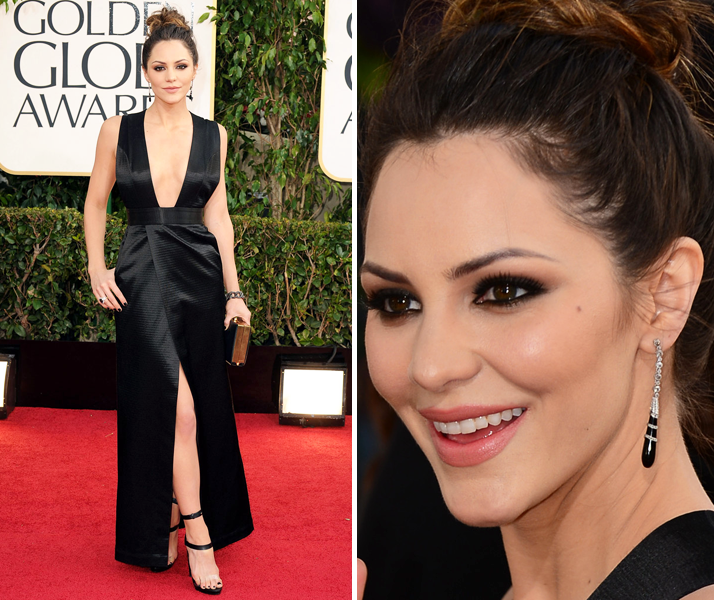Golden Globes 2013: Megan Katharine McPhee in Theyskens' Theory