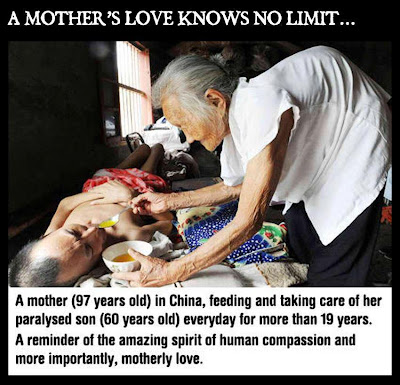 A Mother's love knows no limit...