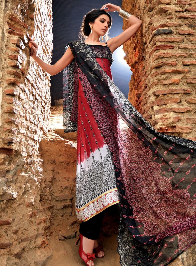 Fashion magazine: Gul Ahmed Lawn Collection