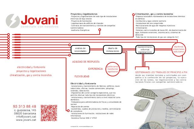 tríptico de servicios de j. jovani s.a.