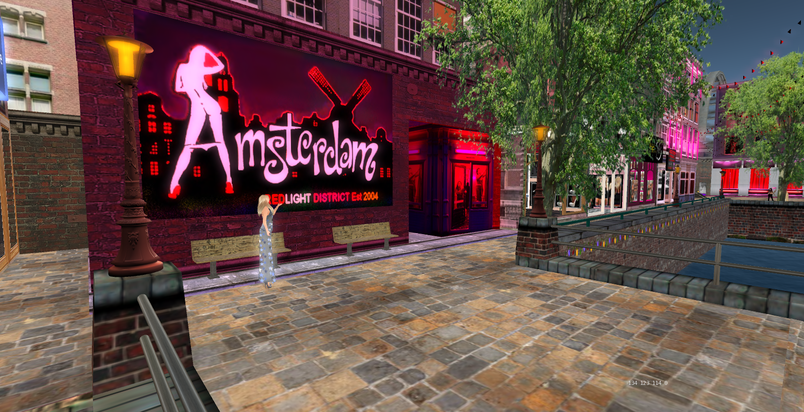 Image result for Amsterdam (Second Life)