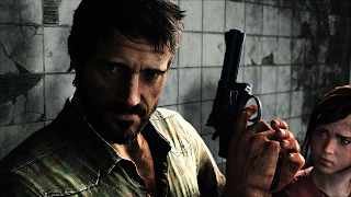 The Last of Us Main Character with Revolver Video Game Wallpaper