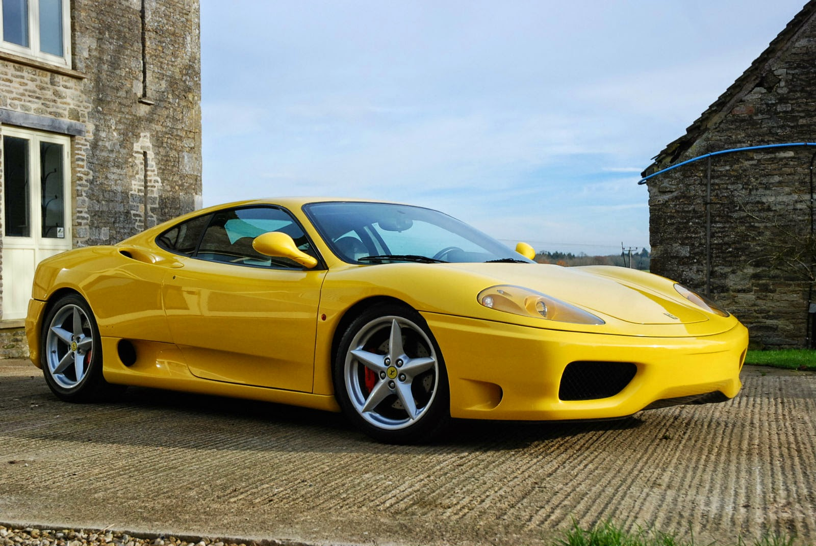 yellow ferrari 360 modena 2001 auto restorationice. Black Bedroom Furniture Sets. Home Design Ideas