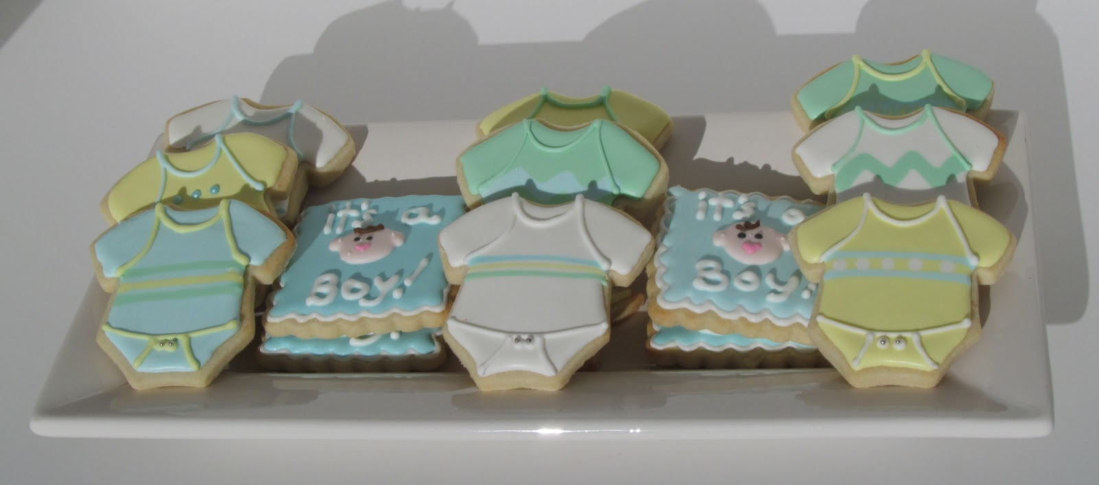 The Adventures Of 2 Amis Baking Its A Boy Baby Shower Cookies