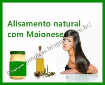 Alisamento natural com maionese passo a passo