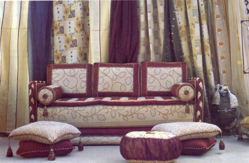 أحدث ديكورات الصالون المغربي البسيط 2015  ديكور غرف