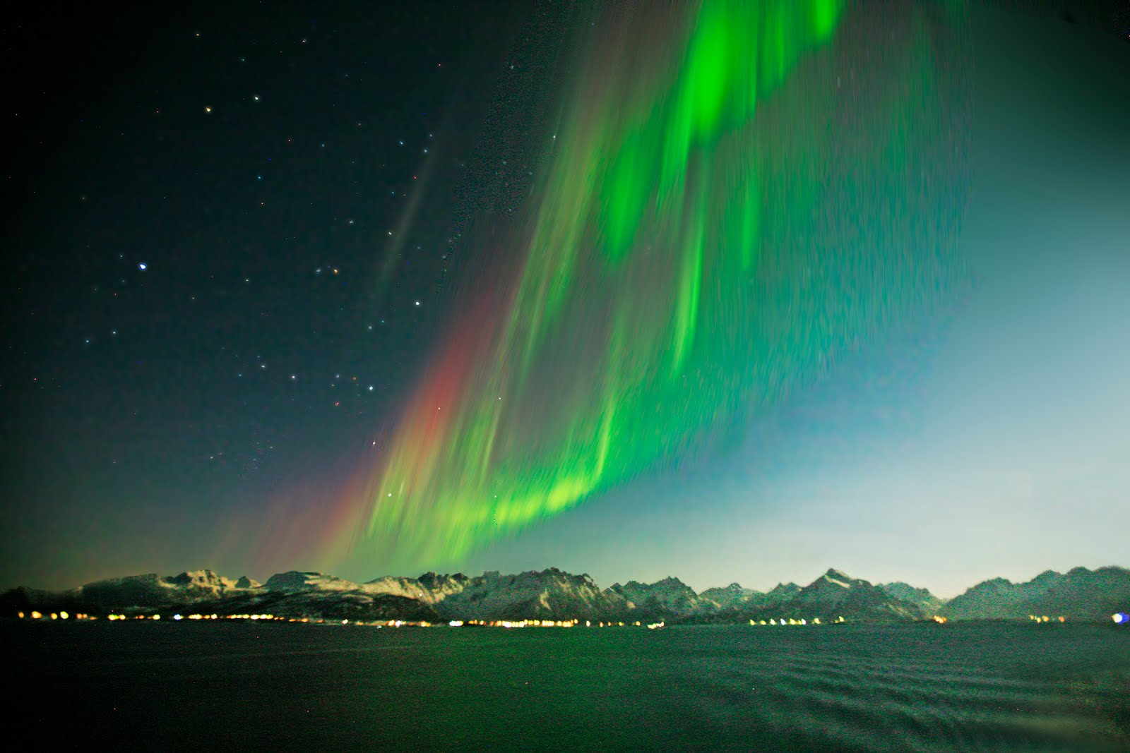 Auroras... Northern lights... in Norway