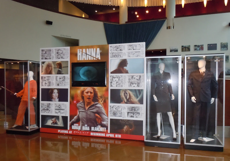 Hanna movie costume exhibit