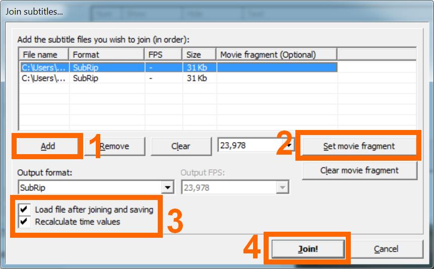Como juntar dois vdeos ou mais com o formatfactory seu tutorial como juntar legendas separadas subtitle workshop ccuart Gallery
