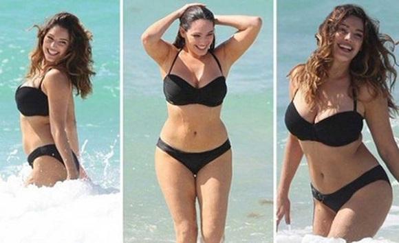 Como seria a mulher com o corpo perfeito: CIentistas chegam a conclusão de que as medidas de Kelly Brook são as mediadas ideais para o corpo de uma mulher