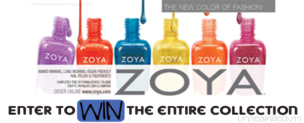 Zoya Summer Collection Giveaway