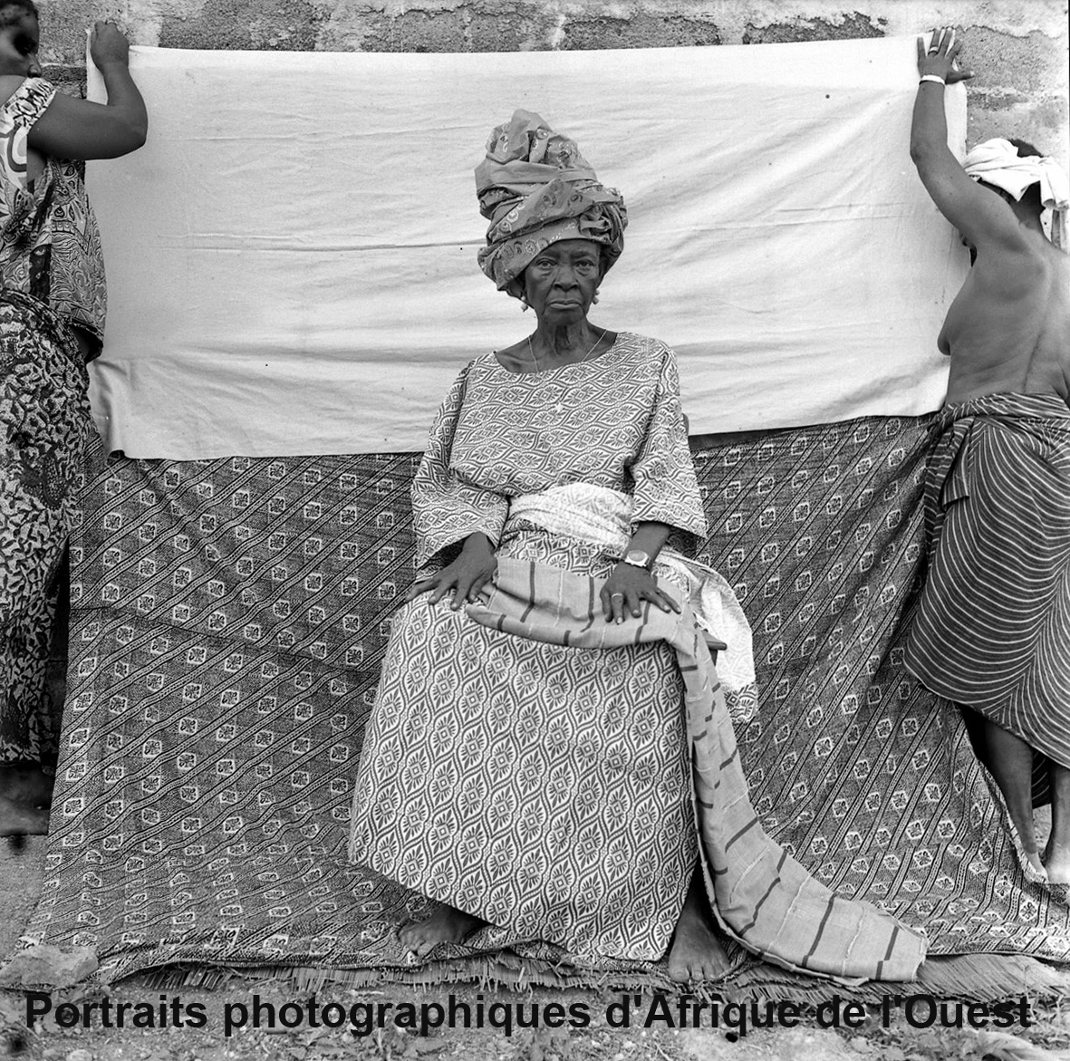 Portraits photographiques d&#39;Afrique de l&#39;Ouest