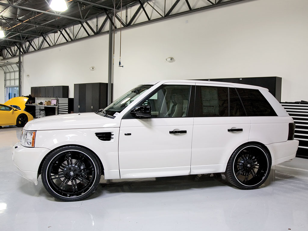 Fast Auto White Range Rover Photos