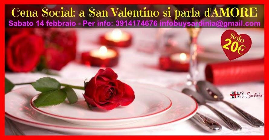 Cena a San Valentino con buySardinia