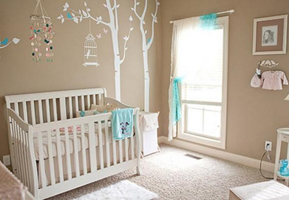 decoracao quarto bebe pequenos ambientes : decoracao quarto bebe pequenos ambientes: rosa, esse quarto com detalhes em azul ficou delicadíssimo efeminino