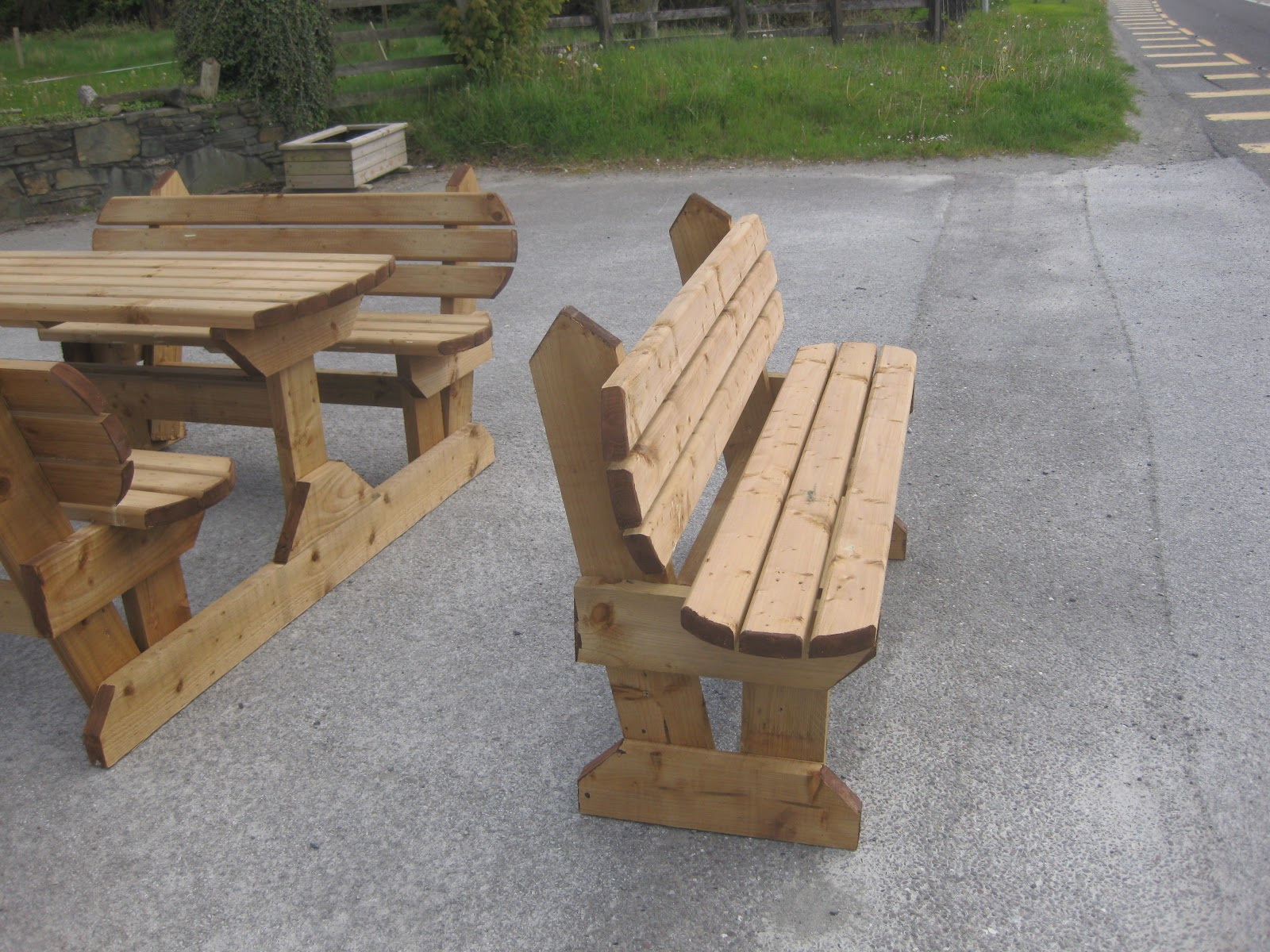timber garden furniture for sale in killarney co kerry ireland