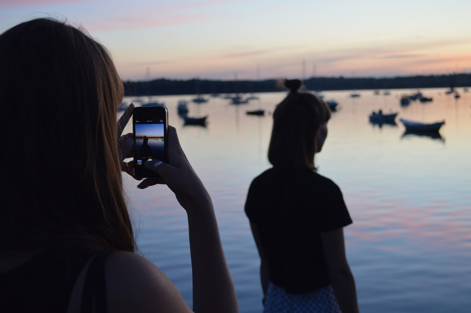 Instagram photography at Saint Suliac harbour in Brittany, France