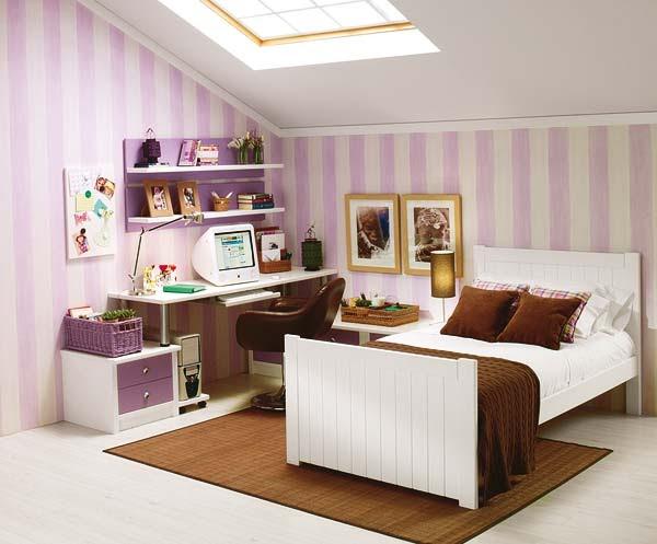 Amueblar dormitorio juvenil abuhardillado - Muebles buhardilla ...