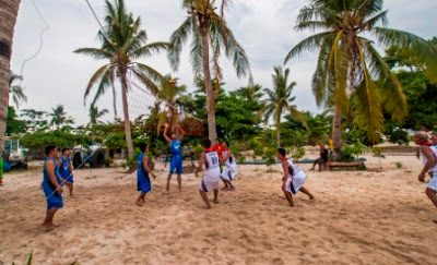 Volleyball at Malapascua Exotic island dive resort