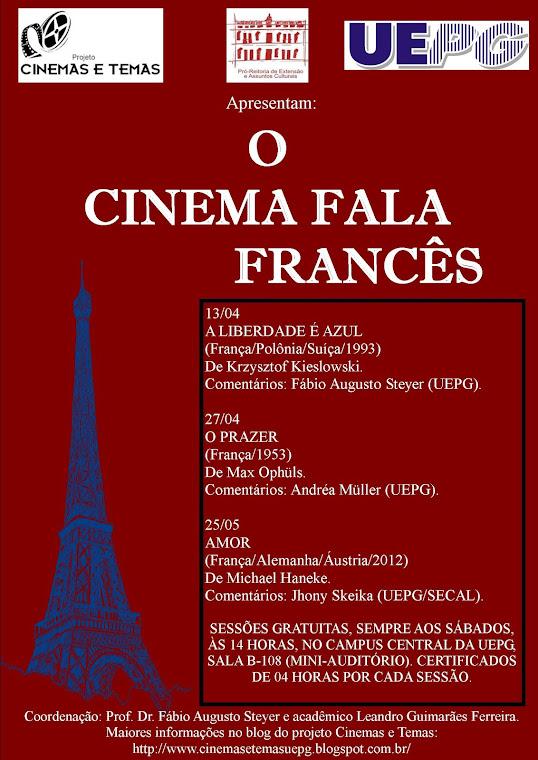 O CINEMA FALA FRANCÊS