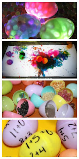 Play and Learning with Plastic Eggs