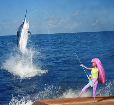 Barbie fish driverlayer search engine for Barbie fishing pole