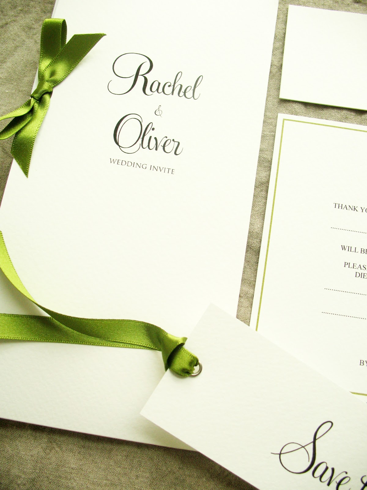 Inspiration for weddings, invitations and stationery: Using Moss ...