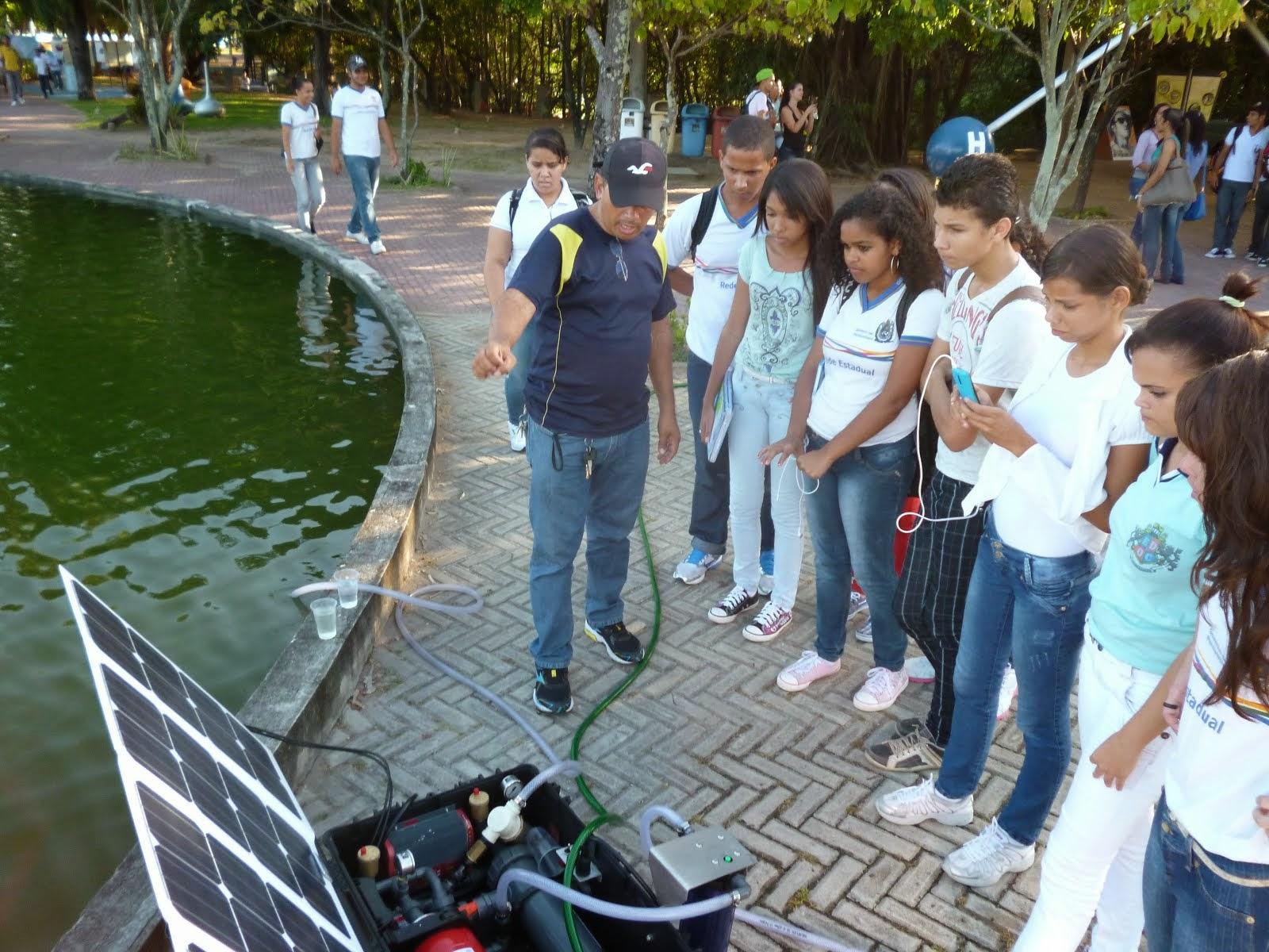 Survivor 300 da Trunz no Espaço Ciência de Pernambuco na Semana da àgua