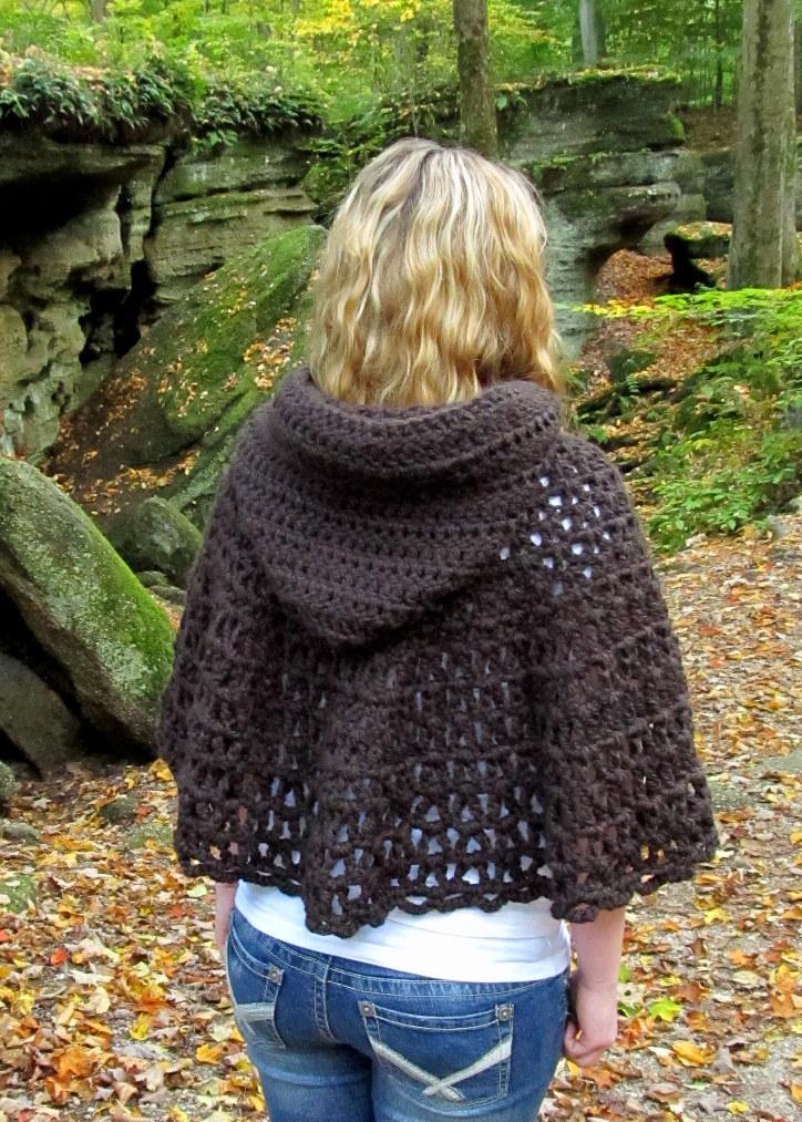 Lazytcrochet Wildwood Capelet New Crochet Pattern And Tutorial