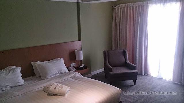 Merdeka Hotel room