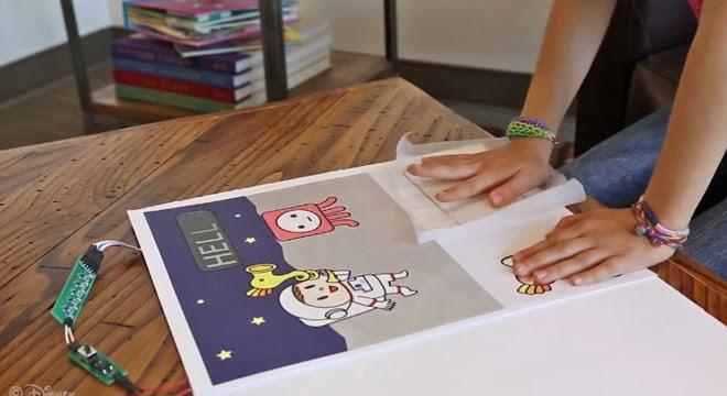 Crea tu propio anuncio interactivo con papel
