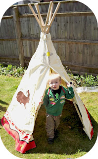 Wigwam, childsplay, outdoor fun, garden games, dens, play, fun, design, aztech design, review, wig wam,
