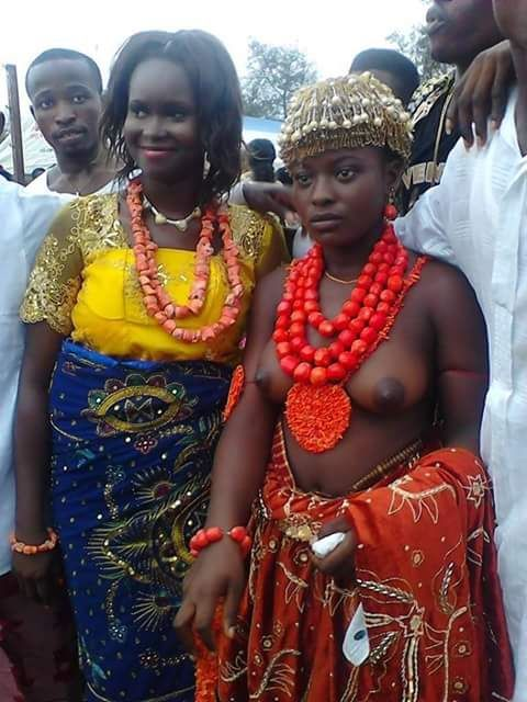 YOUNG VIRGIN TRADITIONAL WEDDING IN NIGERIA See Picture Below