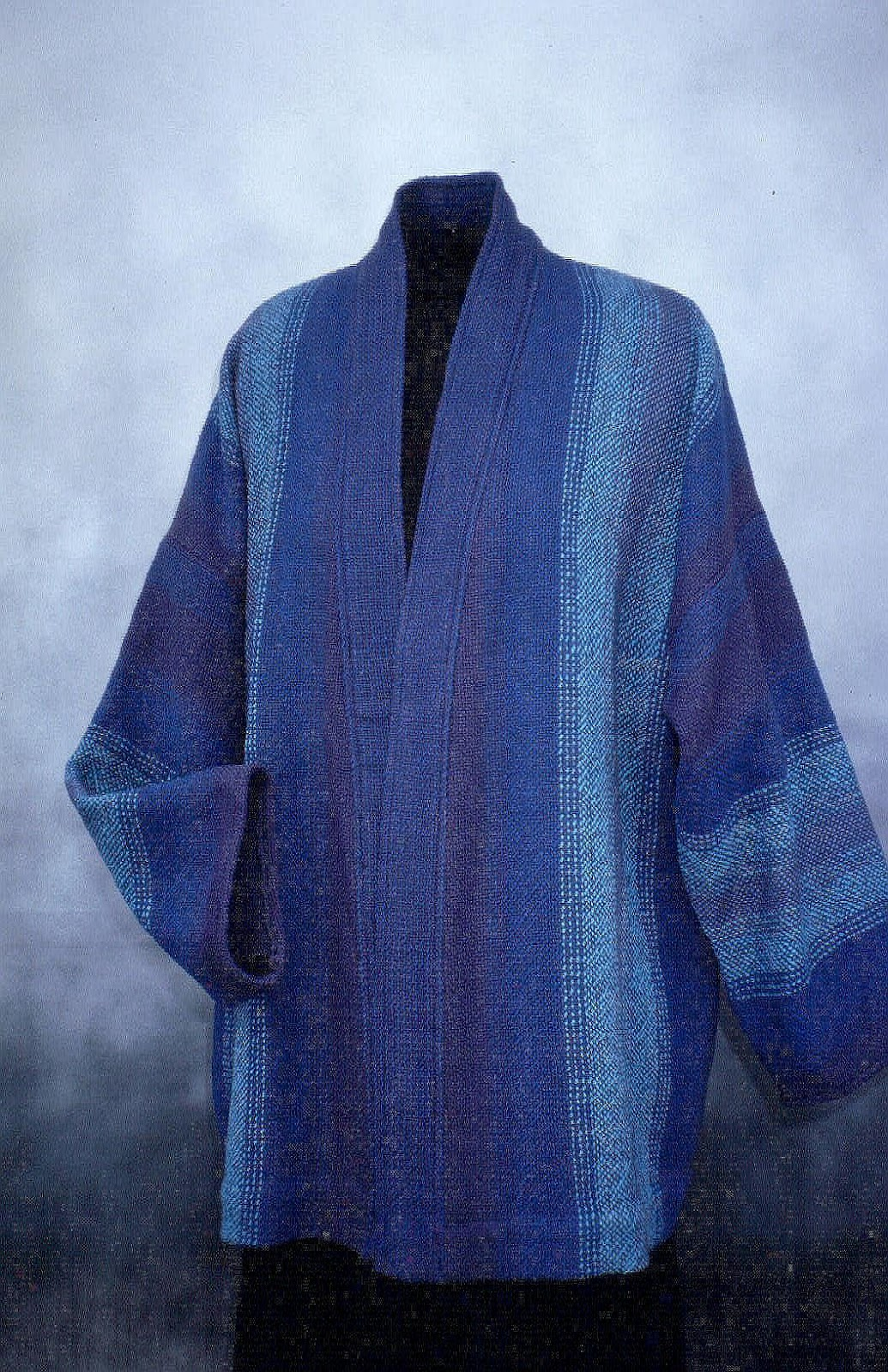 joni leaf handwoven scarves