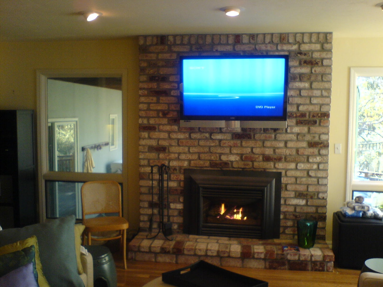 brick laminate picture brick fireplace
