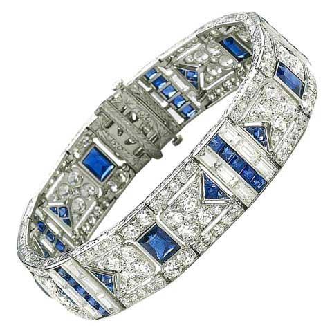 Silver Gold and Platinum Bracelets  Blue Nile