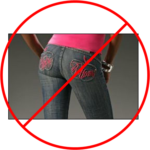 lo apple bottom jeans depiction straightforward