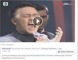 Ini dia penampIlan dari sang Juara  #DAcademyAsia di konser kemenangan kemarin bagaimana Menurut kamu ????????
