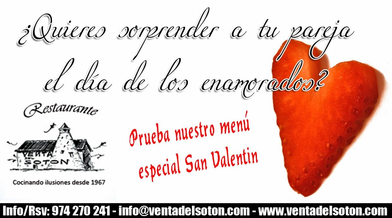 Restaurante Venta del Soton - San Valentin