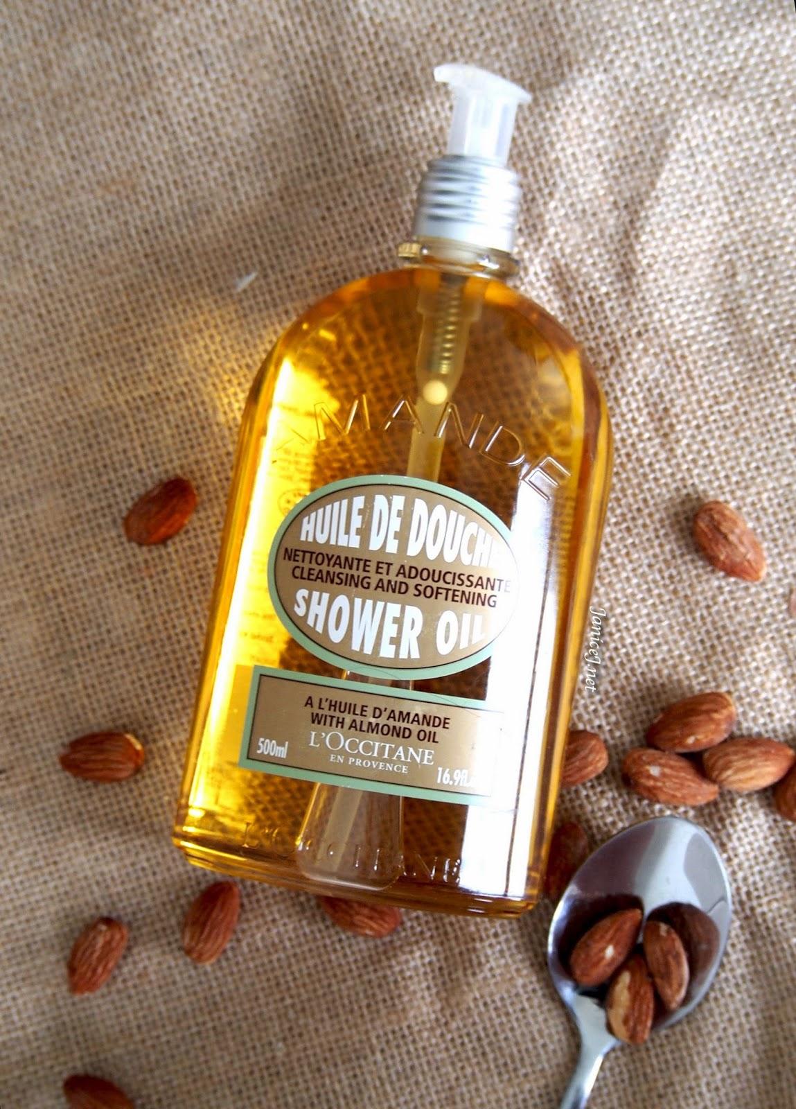 ผลการค้นหารูปภาพสำหรับ L'Occitane Almond Shower Oil 500ml.