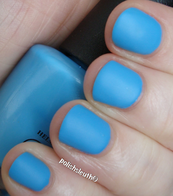 OPI No Room For The Blues matte
