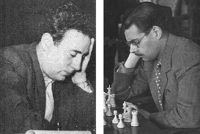 Los ajedrecistas Miquel Albareda y Antonio Medina