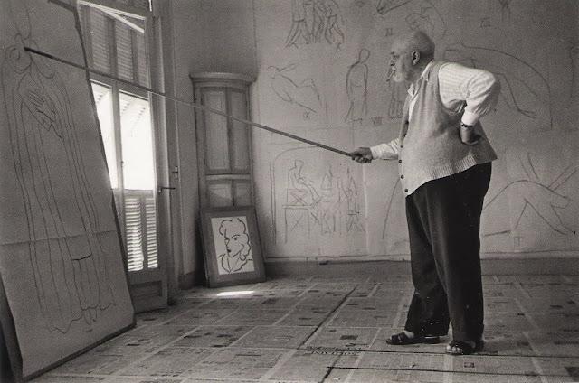 Matisse en su estudio
