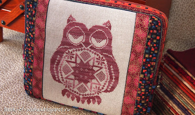 bag for needlework Quaker Owl