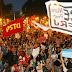 Se registran violentas protestas durante el primer día de la visita del Papa a Brasil