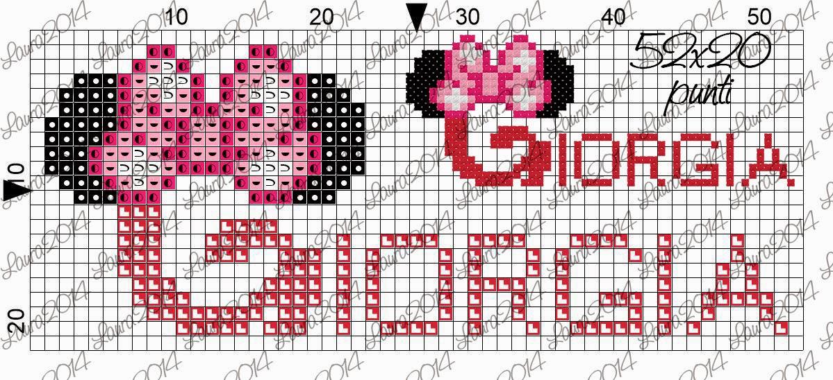 Bien-aimé Gli schemi di Laura: Giorgia DE44