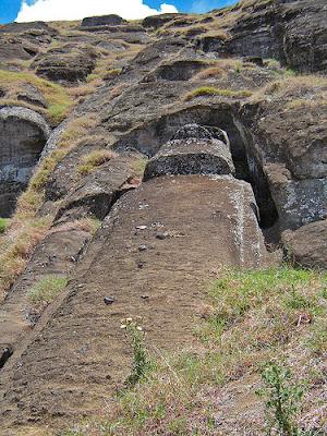 Chile Easter Island Rano Raraku