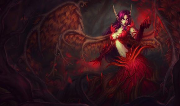 Katie de Souza ilustrações fantasia games mulheres Blackthorn Morgana