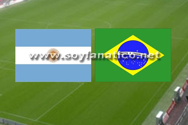 Seleccion Argentina vs Brasil Amistoso 2014