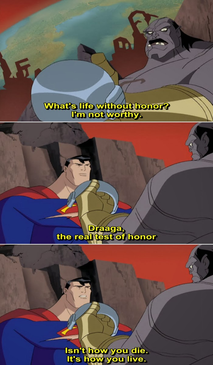 Justice League Animated Series Quote-8